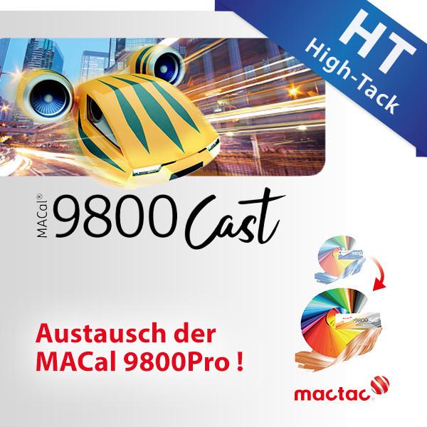 MACal 9800Cast HT, High-Tack Schwarz/Weiss