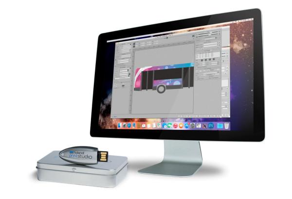Roland Printstudio 2.0 - RIP und Druckmanagement-Software für Mac OS X
