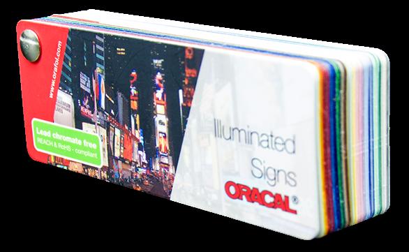 Farbfächer Oracal 8800 + 8500