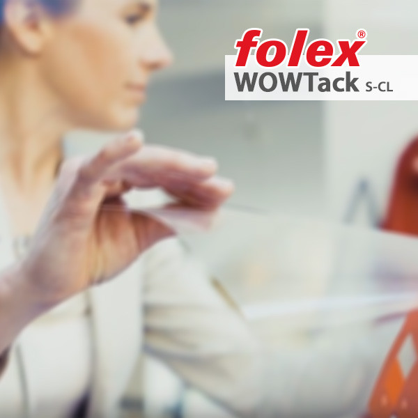 Folex WOWTack S CL - glasklar