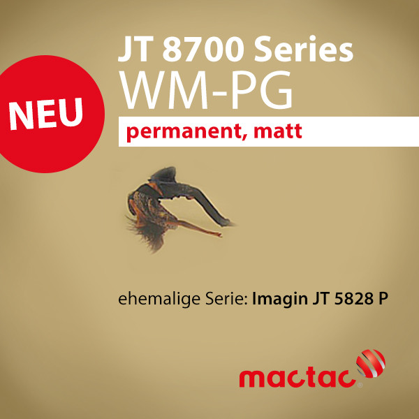 JT 8700 WM-PG ex. JT 5828 R - Digitaldruckfolie matt permanent