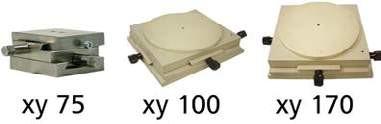 TTN XY-Verstelltische-Kreuztische für Tampondruckmaschinen