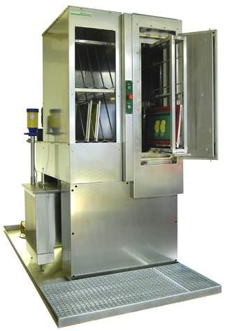 SIRI Rotorwaschanlage RW - Automatische Siebwaschanlage