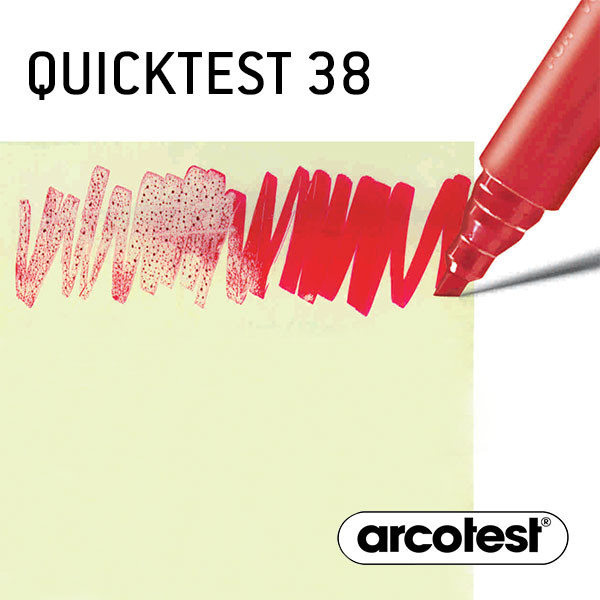 Oberflächenspannungs-Teststift Quicktest 38