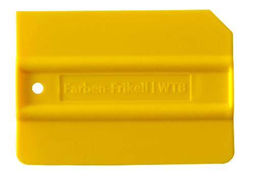Standard Folienrakel in gelb
