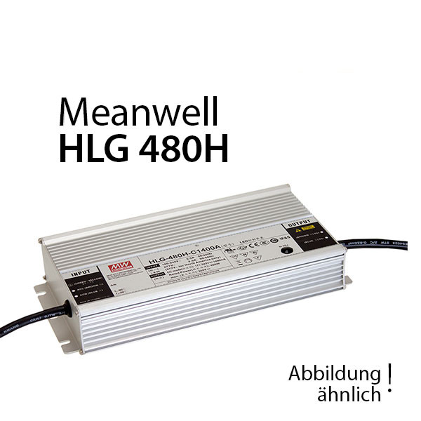 Meanwell HLG-480H-24B Netzteil 480W / 24V / 20A dimmbar