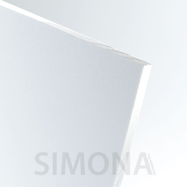Simopor S Freischaumplatten weiß 8mm