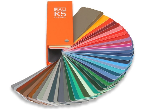 RAL Farbfächer K5 G, glänzend