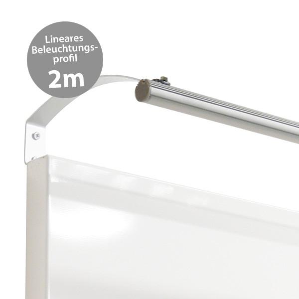 LED-Profil linear, 2m