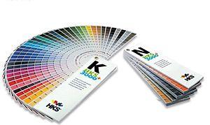 HKS-Farbfächer-Set K+N 3000+