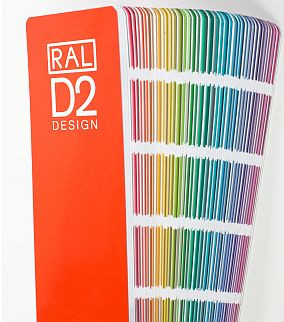 RAL DESIGN SYSTEM, D2-Farbfächer