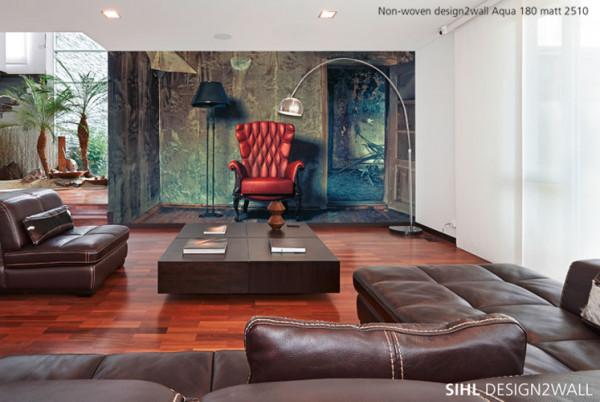 Sihl 2510 Design2wall - Vlies-Tapete 180 g/m² matt
