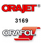 Orajet 3169 - Teilpolymere Digitaldruckfolie