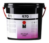 Ultra Graph UVGX - Marabu UV-härtende Siebdruckfabe - für Grafikaufträge