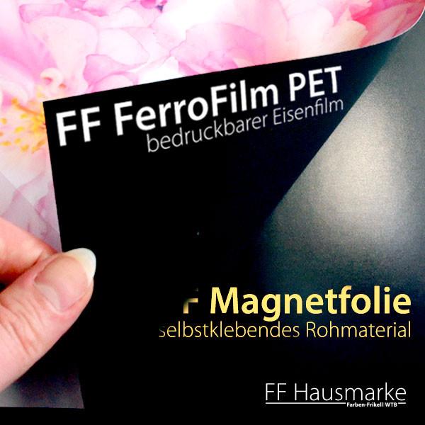 FF Magnetfolie, selbstklebende Untergrundfolie