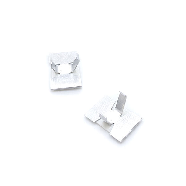 Aluminium Kabelschellen, selbstklebend