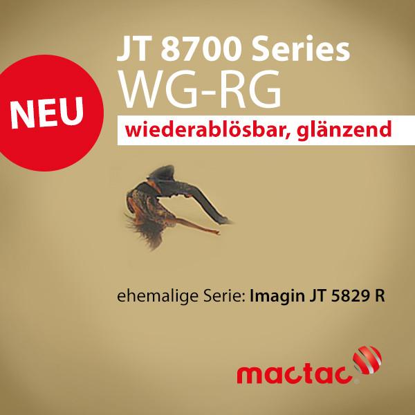 JT 8700 WG-RG JT 5829 R weiss gl. ablösbar