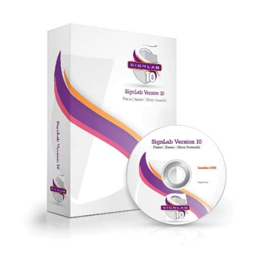 Signlab 10 - das leistungsfähige Softwarepaket
