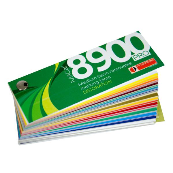 MACal 8900 Pro, Farbfächer