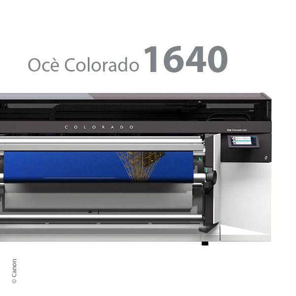 Océ Colorado 1640, UVgel-Inkjetdrucker