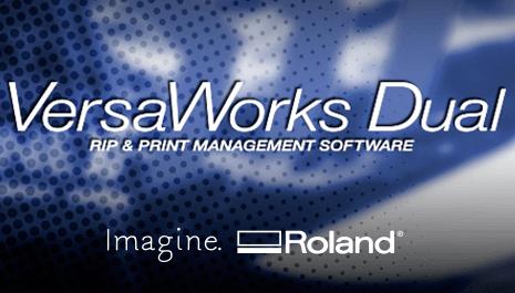 Roland VersaWorks Dual - RIP Software für Roland Drucker