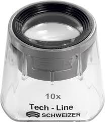 Tech-Line Fix-Focus, ergonomische Standlupe