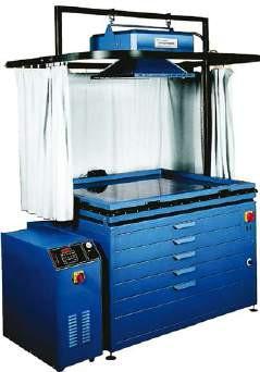 Technigraf Sieb-Kopier & Trocknungsanlage