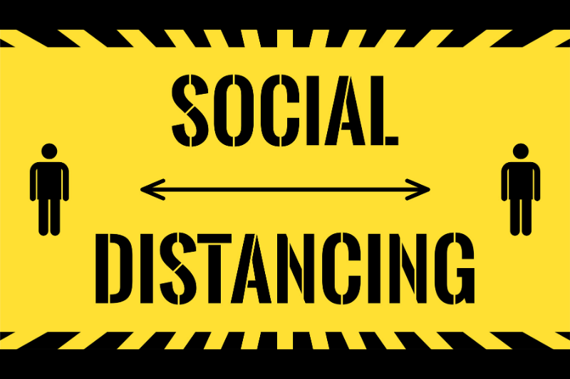 social-distance-signage