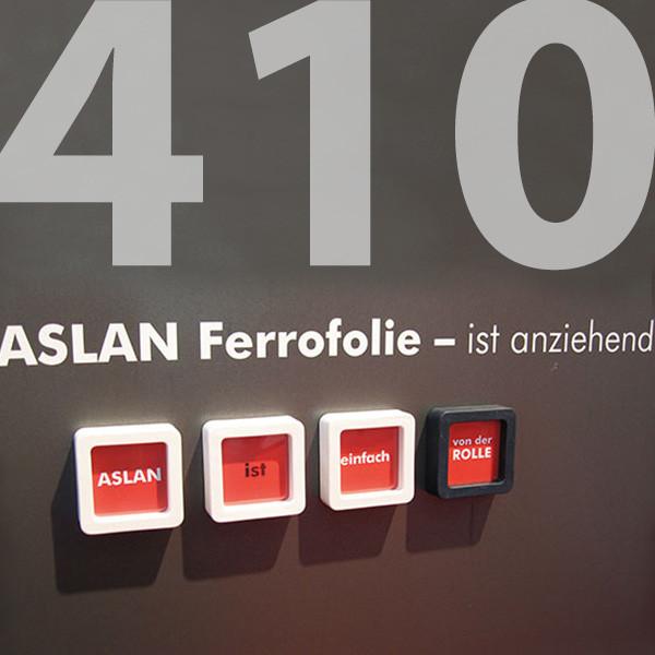ASLAN FF 410 FerroSoft, Eisenfolie anthrazit 1010 mm