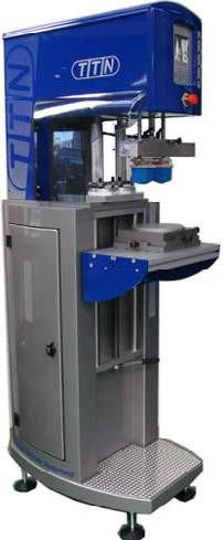 TTN Tampondruckmaschine EKO 200 L/VTC 2-farbig mit Verschiebetisch
