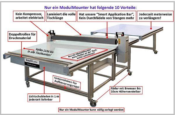 ModulMounter Boss GLS 175 cm x 408 cm