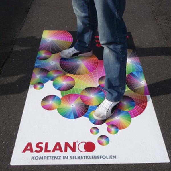 ASLAN DFP 46 Floor Grafics WrapTheStreet, für Asphaltboden