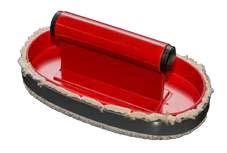 Tampondruckklischees Plüschauswascher