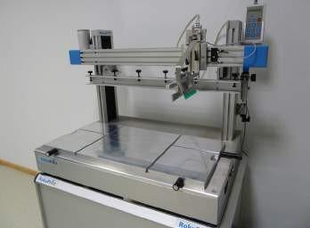 Rokuprint Siebdruckmaschine RP 2.2 mit pneumat. Rakel