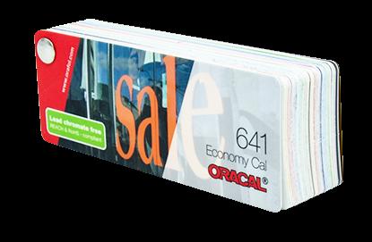 Farbfächer Oracal 641