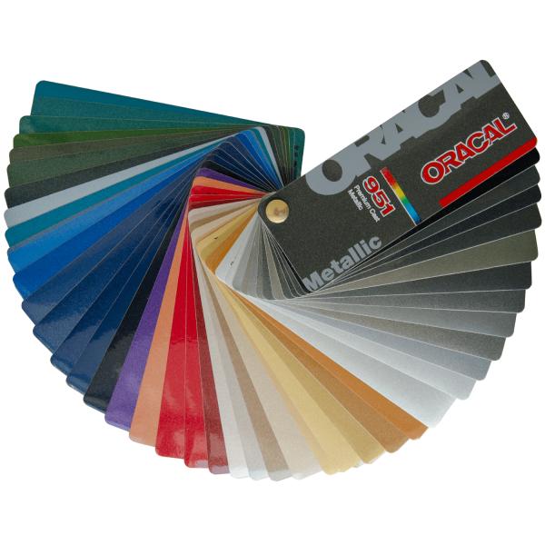 Oracal 951 Premium Cast, metallic
