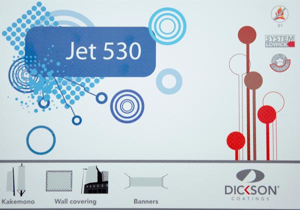 Dickson Frontlit Banner Jet 530 - 550 g/m² - sehr widerstandsfähig