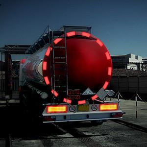 Oralite VC 104+ Tanker Stickers - Rollen