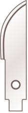 Martor Konvexklinge Nr. 679 | 1 x 10 Klingen