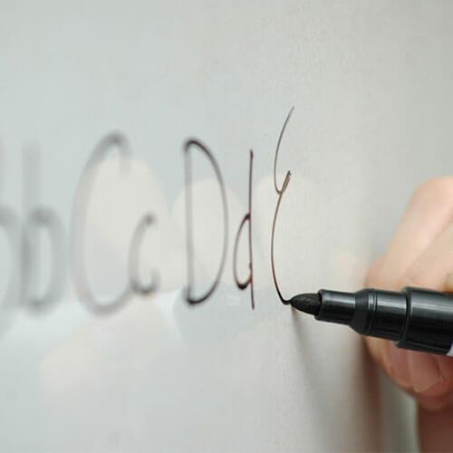 ASLAN CB 75 + CB 90 Clearboard, Whiteboard-Folien