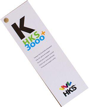 HKS-Farbfächer K 3000+