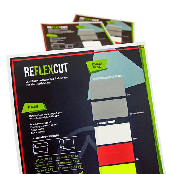 SEF ReflexCut, Farbkarte
