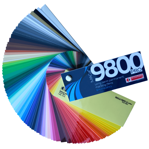 MACal 9800 Pro Farbfächer