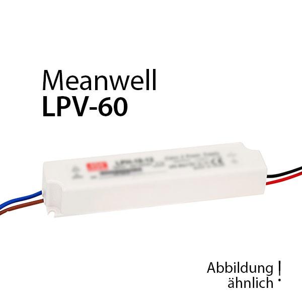 Meanwell LPV-60-12 Netzteil 60W 12V 5A / IP67