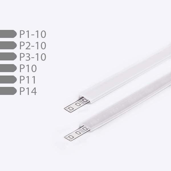 Profil-Cover für P1-/P2-/P3-10 + P10/P11/P14, 2m