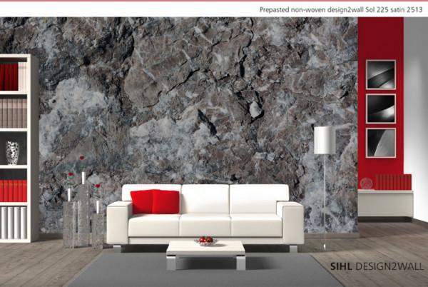 Sihl 2513 Design2wall - Vlies-Tapete vorgekleistert 225 g/m² satin