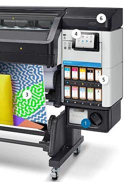 HP 832 Latex Ink | 1 Liter