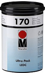 Marabu Ultra Pack LEDC, LED-härtende Siebdruckfarbe