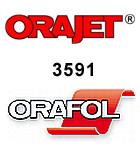 Orajet 3591, polymere Digitaldruckfolie - ablösbar