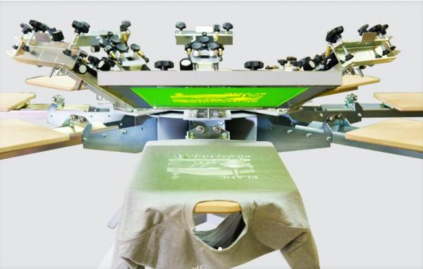 Tiflex LC Karussell 1-8 Farben T-Shirt-Drucker